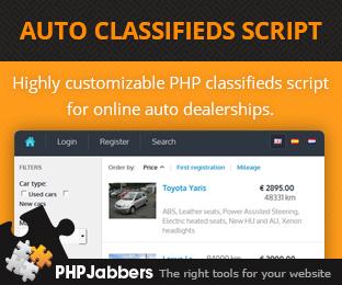 Auto Classifieds Script