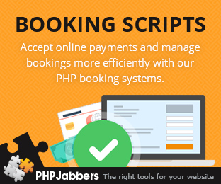 PHP Booking Scripts