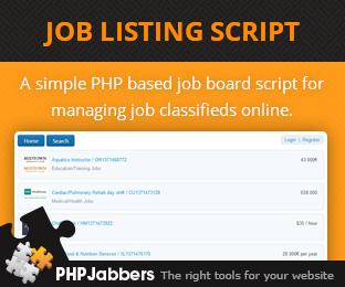 Job Listing Script