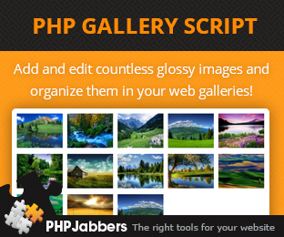 PHP Gallery Script