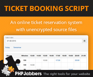 Ticket Booking Script