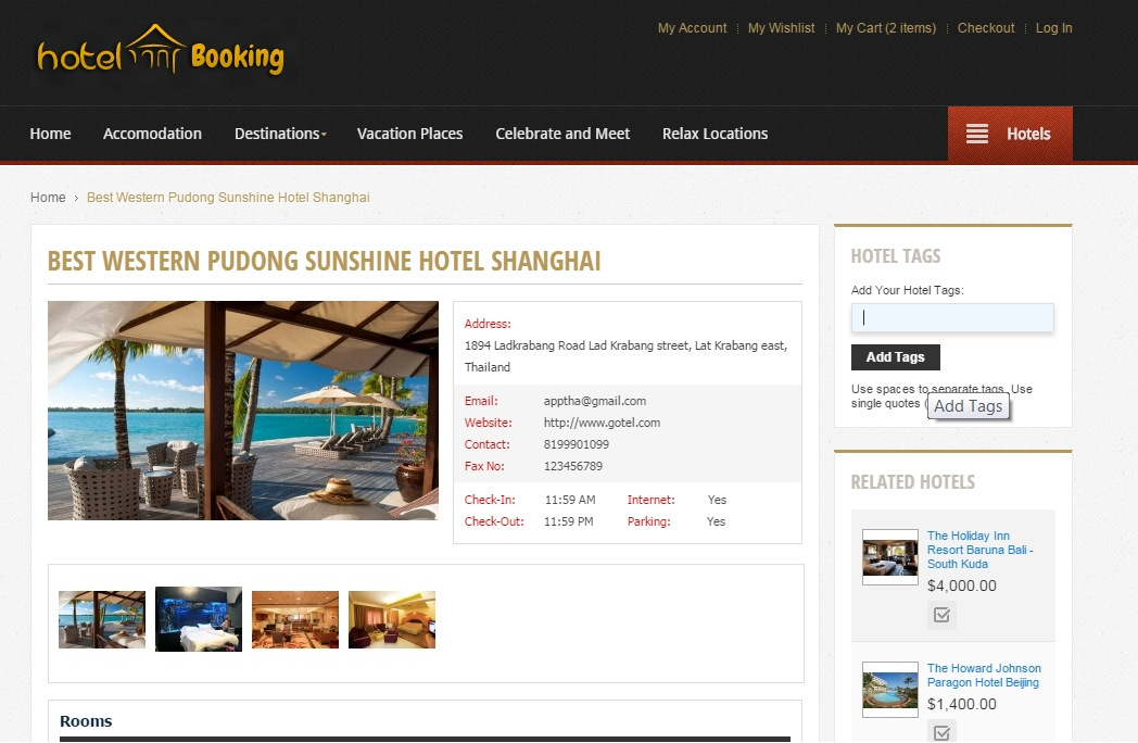 GeekyCorner | Hotel Booking Magento Extension | Booking Scripts
