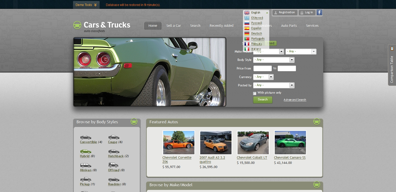 GeekyCorner   Flynax Auto Classifieds   Classified Ads   PHP scripts
