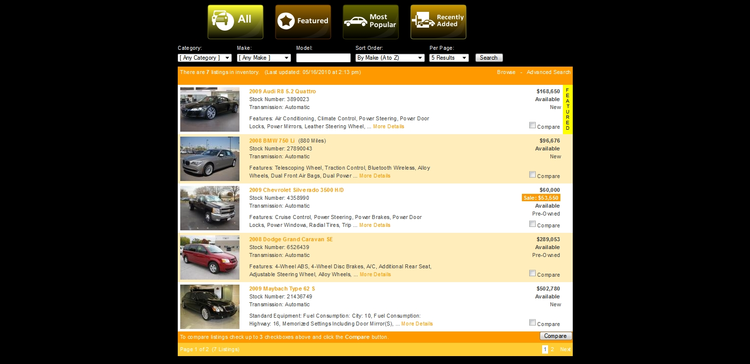 GeekyCorner | 'X' AutoDealer Script | Classified Ads | PHP