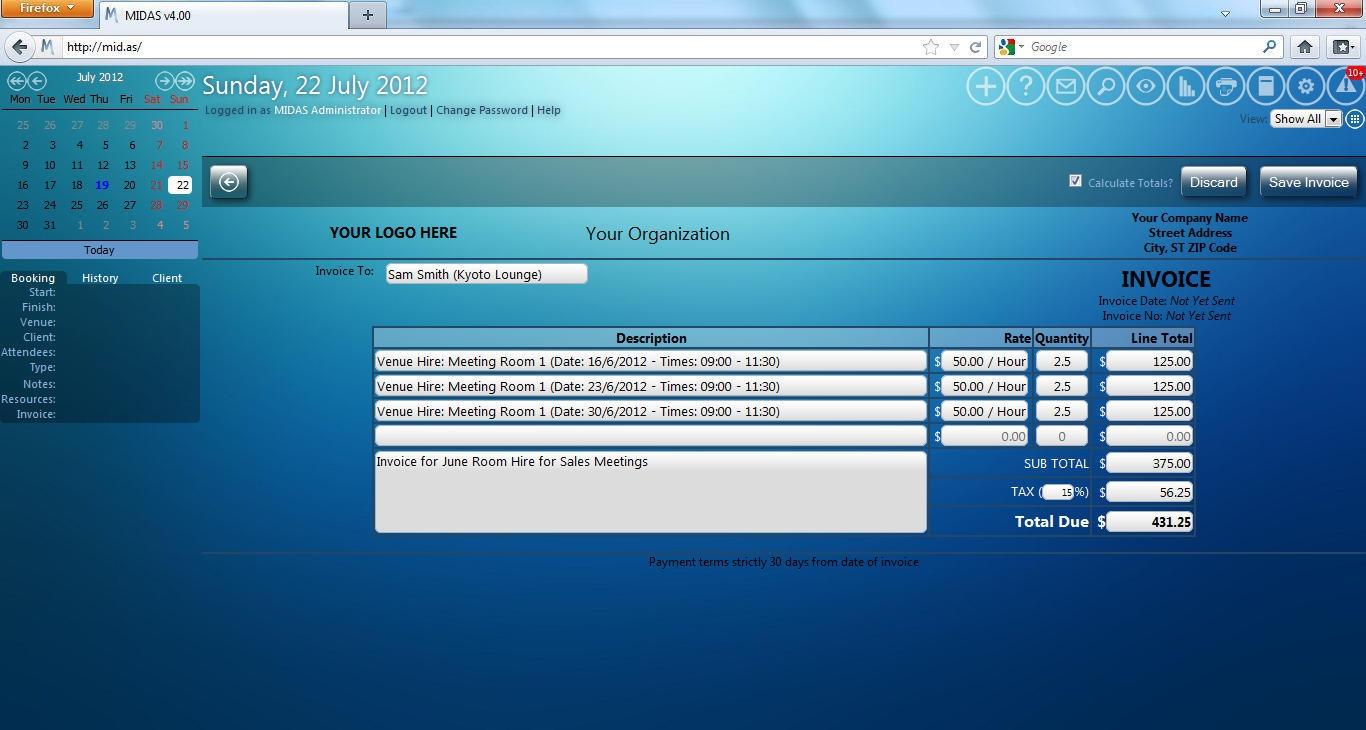 web scheduling software
