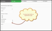 PrestaShop Custom Registration Attributes Addon Feature