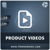 FMM's Product Videos Add-on Feature
