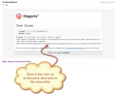 Magento Product Stock Alert / Notification Extension Feature