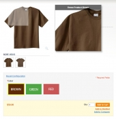Magento Color Swatches Pro by Amasty Feature