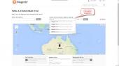 Magento Google Maps Store Locator Module Feature