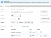 Invoice Manager Feature