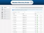 Member Directory Script Feature