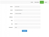 Shared Asset Booking System by PHPJabbers Feature