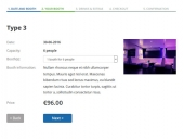 Night Club Booking Software by PHPJabbers Feature
