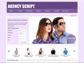 Model Agency Website Templates|Model Website Script|Modeling Agency Manager Script Feature