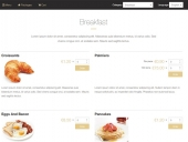 Catering System by PHPJabbers Feature