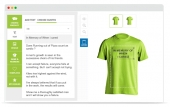 T-shirt Design Tool Feature