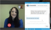 Comm100 Live Chat Feature