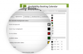 Availability Booking Calendar Feature