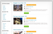 Vacation Packages Listing Feature