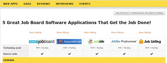 5 Great Job Board Software apps