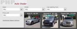 PHP Auto Dealer