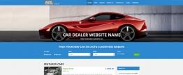 A top-notch car dealer website