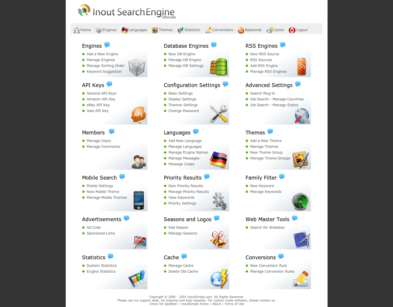 GeekyCorner | Inout Search Engine | Miscellaneous | PHP scripts