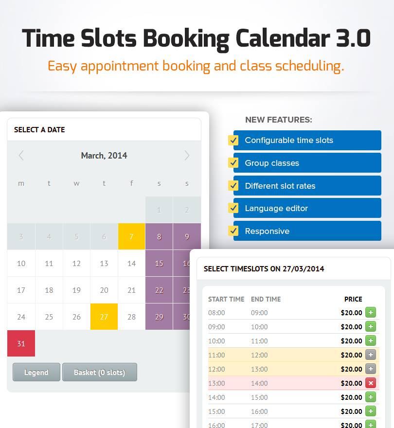 Php booking calendar