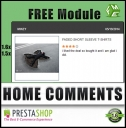 PrestaShop Customers Reivews and Comments Block Extension, Store Locators