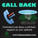 Call Me Back PrestaShop Module, Chat & Messaging