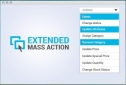 Magento Bulk Product Actions Extension, Shopping Carts