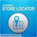 Magento Google Maps Store Locator Module, Store Locators