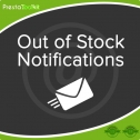 PrestaShop Out of Stock Notification Module, Shopping Carts