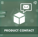 PrestaShop Contact Form For Products Module, Shopping Carts
