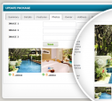 Vacation Packages Listing, Content Management
