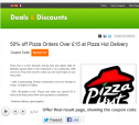 Deals & Discounts Portal, Miscellaneous