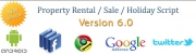 Property Rental/Sale Holiday Script, Classified Ads Software