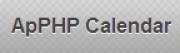 ApPHP Calendar, Calendars & Events Software