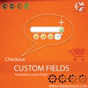 Custom Check Out Fields PrestaShop Extension, Shopping Carts Software
