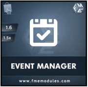 FME's Calendar Module for E-stores, Calendars & Events Software