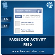 Facebook Recent Activity Feed Extension , Shopping Carts Software