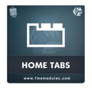 Home Tabs PrestaShop Plug-in, Content Management Software