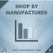 Magento Shop By Manufacturer, FmeAddons