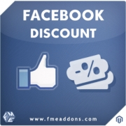 Facebook Like Discount Extension For Magento, Shopping Carts Software