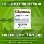 PrestaShop Text Blocks Addon, Shopping Carts Software