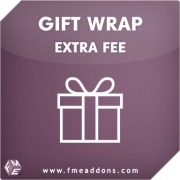 GiftWrap Extension For Magento By FmeAddons, Shopping Carts Software