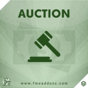 Auction Extension For Magento By FmeAddons, Shopping Carts Software