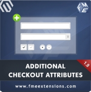 Magento Custom Checkout Fields Manager by FME, Shopping Carts Software