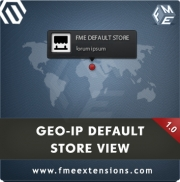 GeoIP Default Store | Store Switcher Magento Extension by FME, Shopping Carts Software